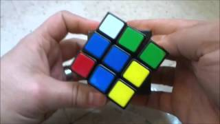 Solving A Rubik's Cube With ONLY 2 Moves (3x3x3 Cube)