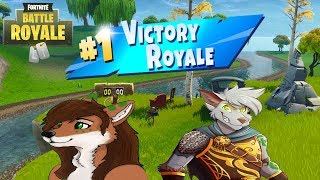 Two Dumb Furries Getting Wins! (Fortnite Season 5 Funny Moments)