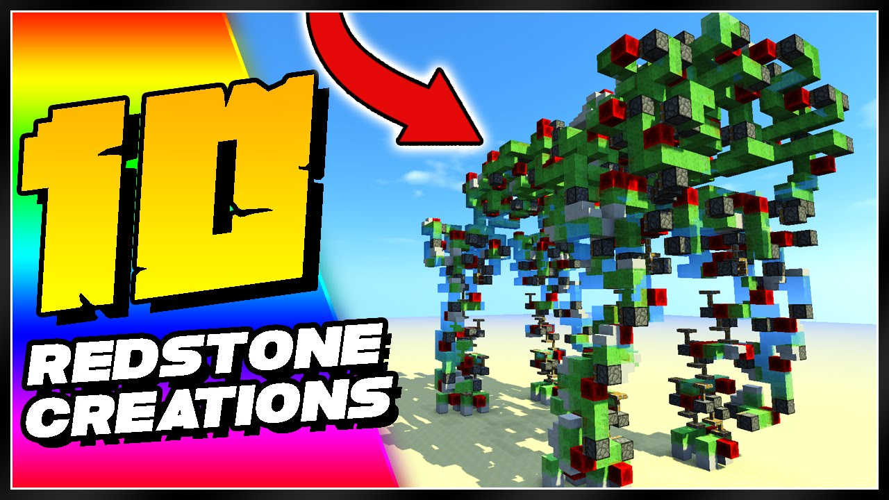 10 Minecraft Redstone Creations That Will Blow Your Mind