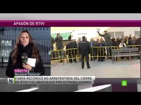 Tancament de RTVV en la Sexta