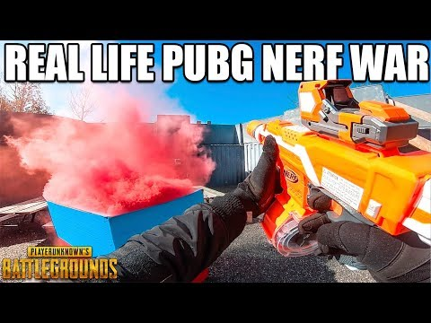 NERF FIRST PERSON BATTLE ROYALE! (Prison Escape)