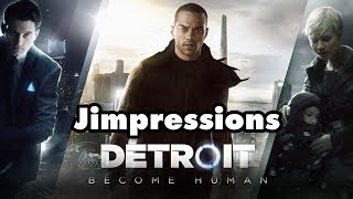 Detroit: Become Human - Crazy Fat Ethel II (Jimpressions) (Video Game Video Review)
