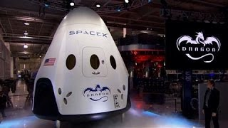 SpaceX Unveils New Spacecraft   (Nasa)