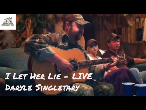Daryle Singletary - I Let Her Lie (Acoustic)