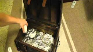 Pirate Treasure Chest - 800 Oz Silver Dump