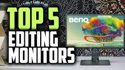 Best Monitors For Photo Editing in 2019   Photo & Video Editing Like A Pro!