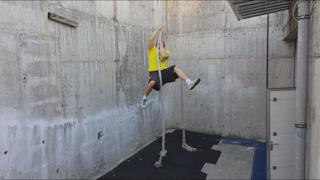 Leggless Rope Climb