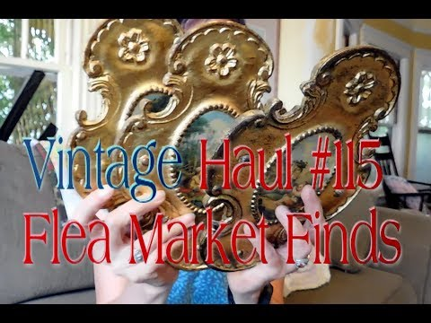 Diggin' with Dirty Girl S6E25 Vintage Haul #115 Flea Market Finds