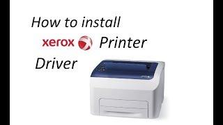 How To Install Xerox Printer Driver Teach World