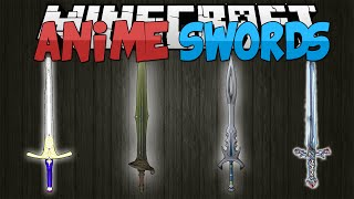 Minecraft Mods || ANIME SWORDS!!! || Sword Art Online!! || Mod Showcase [1.7.10]