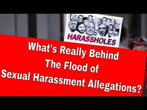 Sexual Harassment Epidemic - The Secret Agenda Behind the #METOO Movement (Podcast)