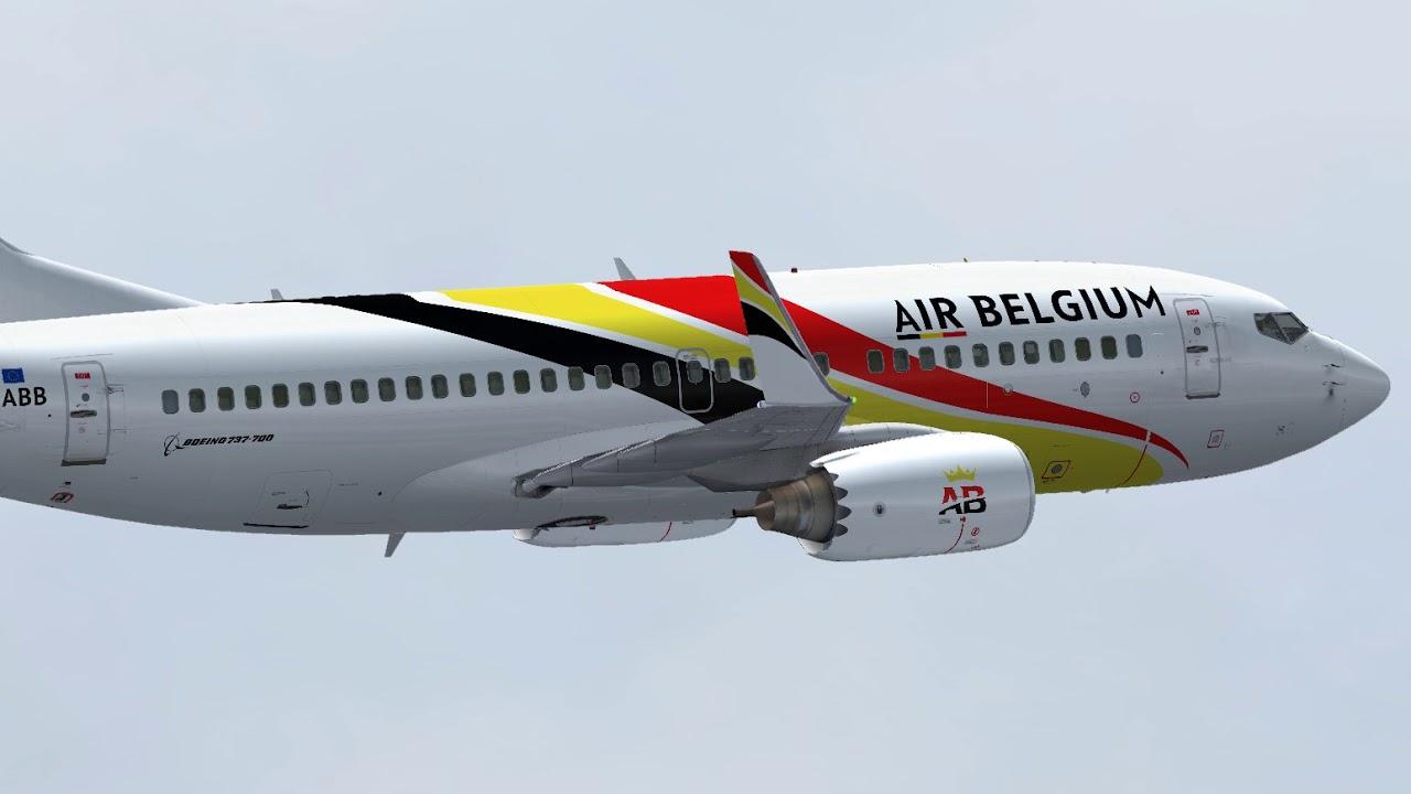 AIRBELGIUM FSX LIVERIES DOWNLOAD