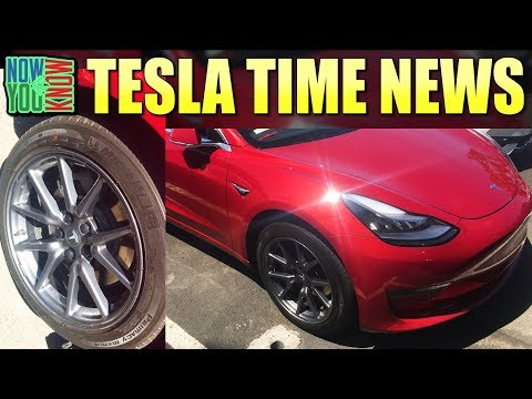 Tesla Time News - Model 3 De-Aero Wheels? Tesla's Service Fleet and more!
