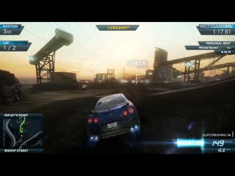 Need For Speed Most Wanted 2012 - Nissan GT-R Egoist Gameplay