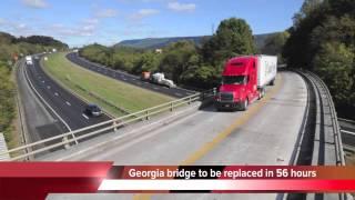Georgia Plans To Rebuild Entire Bridge In 50 Hours