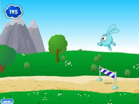 Смешарики онлайн игра: Кто первый? - YouTube