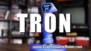 classic game room adventures of tron review for atari 2600