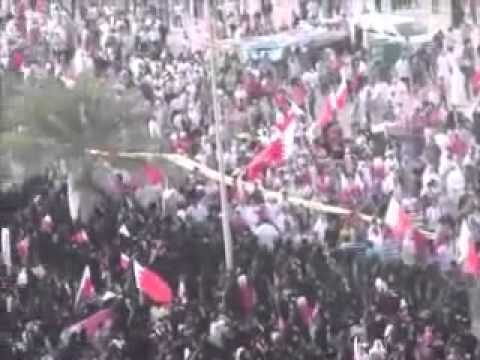 Tens of thousands join Bahrain protest against unity plans with Saudi Arabia - Protestos no Bahrain
