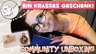 Community Unboxing: Sprachlos! Das krasseste Geschenk ever!? + Hanni und Nanni zum Mitnehmen 😍😱🌺