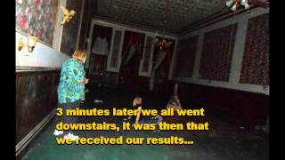 EVP Washoe Club - Knights of Pythias - Mackay Mansion Virginia City, NV 6 7 13 Voice To Voice EVP 39