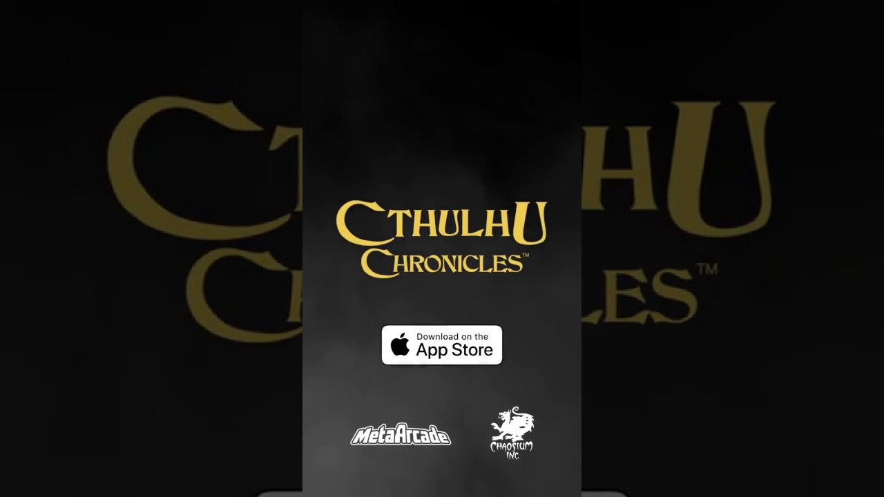 Cthulhu Chronicles - On the iOS App Store Now! - https://itunes.apple.com/app/id1343328830