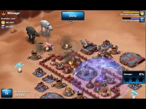 Star Wars: Commander Level 5 Successful Rebel Base Defence
