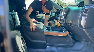 Installing A LTZ Center Console On My Truck