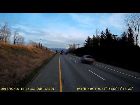 Recovery On Highway 1 (Sped up)