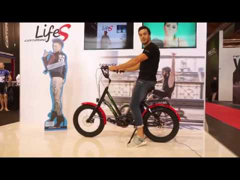 eurobike 2017 corratec life s stylisches kompakt e bike. Black Bedroom Furniture Sets. Home Design Ideas