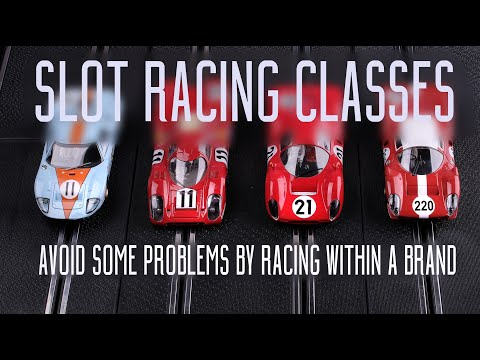 Classes for Slot Racing