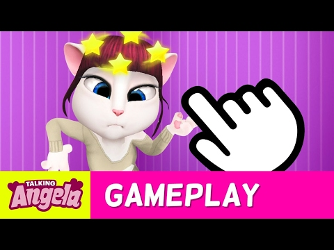 Oops! Clumsy Talking Angela - Pokes and Fails