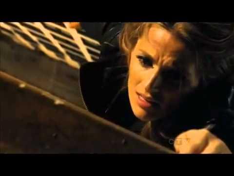 Castle    4x23 Beckett Almost Dies
