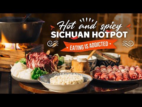 Món ngon mỗi ngày   Ẩm thực Châu Á tập 5   Lẩu Tứ Xuyên siêu cay, thơm nồng   Young Kitchen
