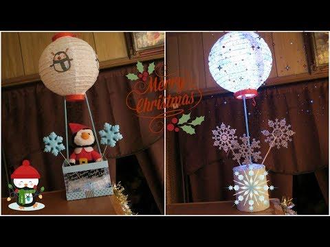 2 Paper Lantern Centerpieces