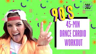 45-Min 90's Dance Cardio Workout | 305 Fitness