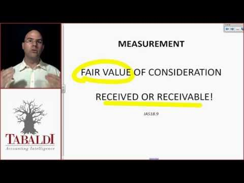 IAS18-Measurement of revenue