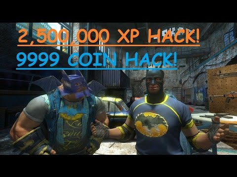 HOW TO HACK XP AND COINS IN GOTHAM CITY IMPOSTORS WITH CHEAT ENGINE! - STEAM