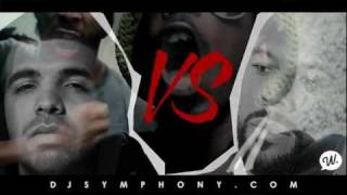 Common VS Drake Official Mixtape Trailor Mixed By Dj Symphony { DOWNLOAD FREE 1-13-12 }