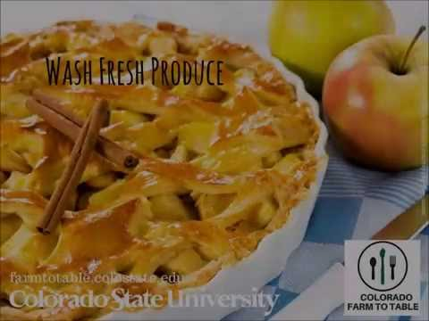 How to Wash Apples