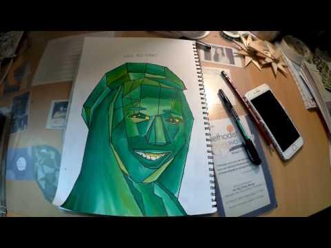Cubist Portrait Brief Tutorial