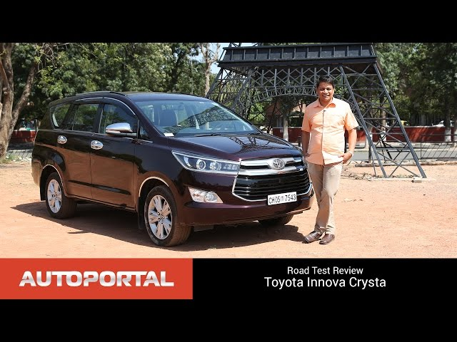Toyota Innova Crysta Test Drive Review - AutoPortal