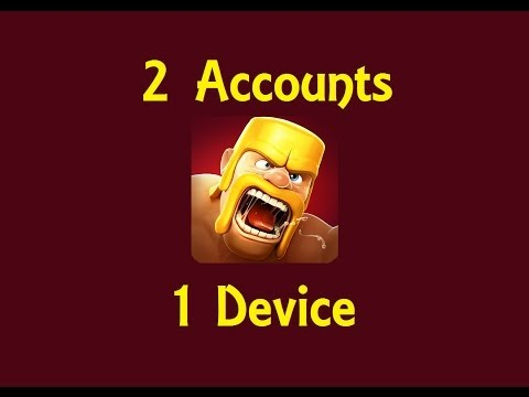How To Get Multiple Clash Of Clans Accounts On 1 DEVICE(very Easy)