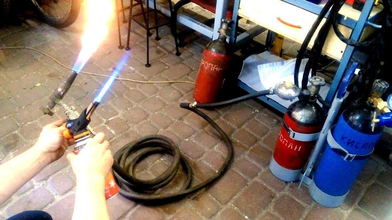 Как сделать пропановую горелку фото 597