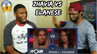 Zhavia vs Elanese: They Fight For Their Future in CRAZY Showdown | S1E1 | The Four (REACTION)