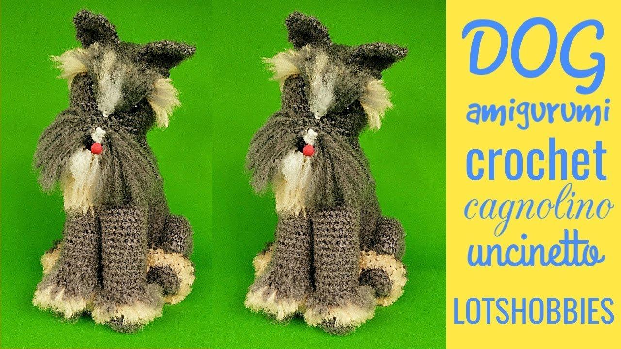 Cane bassotto uncinetto amigurumi, Dachshund dog crochet (english ... | 720x1280