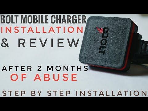 BOLT SMART MOTORCYCLE MOBILE CHARGER REVIEW & INSTALLATION | BEST MOBILE CHARGER TVS APACHE RTR