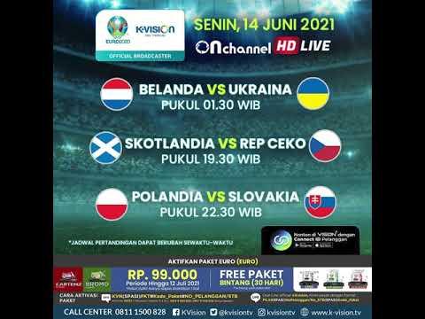 Jadwal Pertandingan EURO 2020 Tanggal 14 Juni 2021