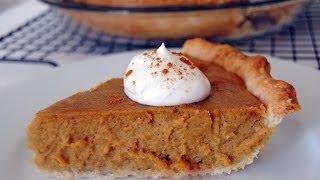 Pumpkin Pie Recipe - How To Make Pumpkin Pie - Sweetysalado.com