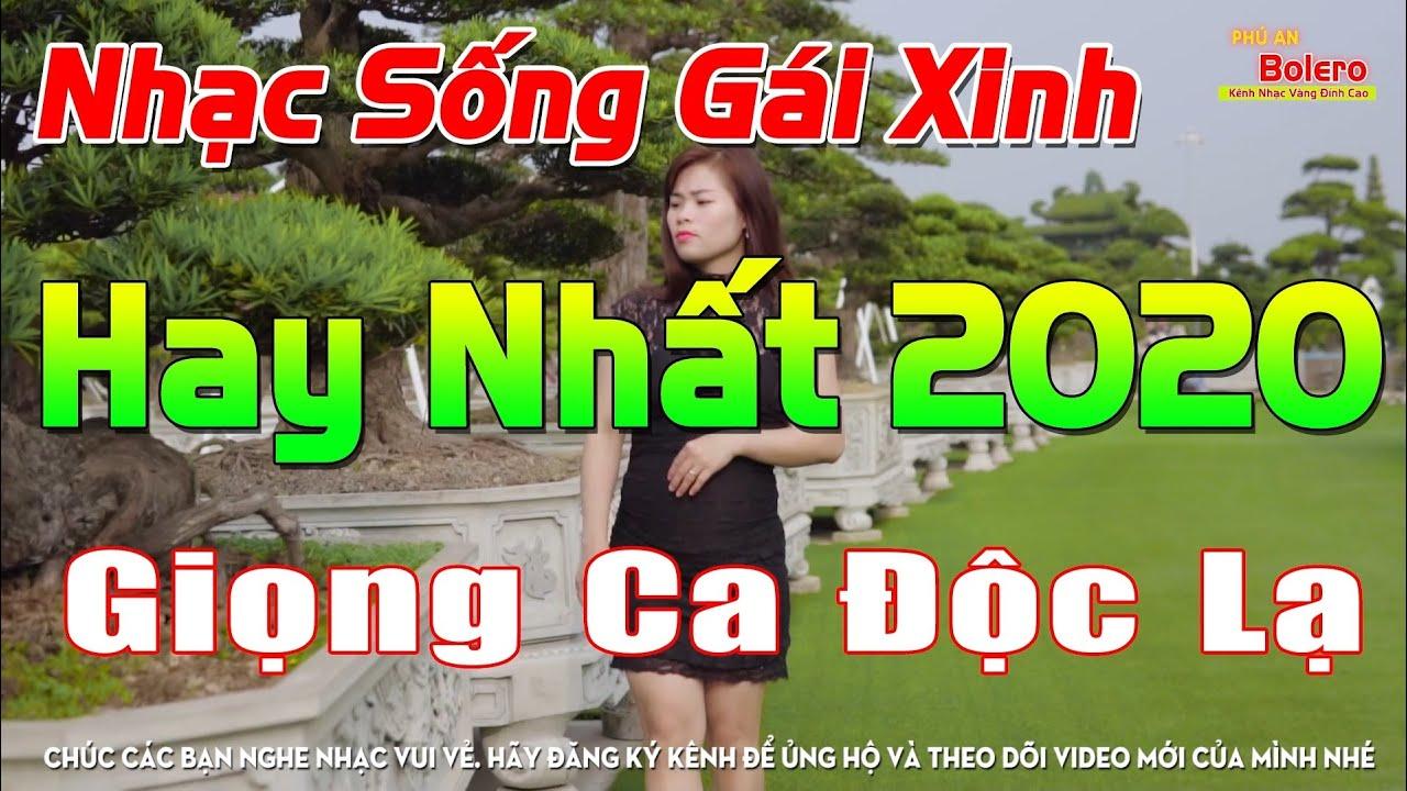 Ca Nhạc Sống 4K Gái Xinh 2020.. LK Cha Cha Trữ Tình 2020 Quê Hương Miền Tây Giọng Ca Độc Lạ MỚI ĐÉT