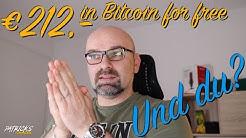 212,- Euro Bitcoin kostenlos bekommen | Patrick's Finanzen | Video 32
